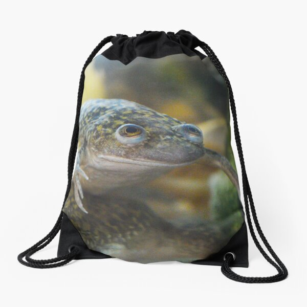 African Clawed Frog II Drawstring Bag