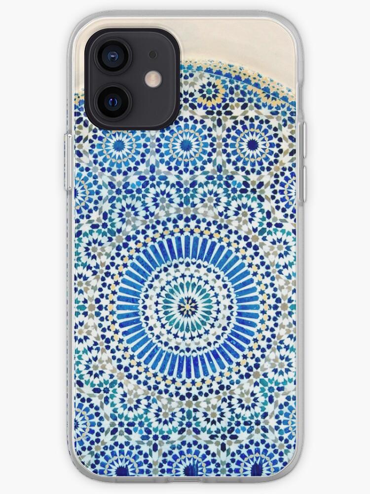 mosaïque marocaine   Coque iPhone