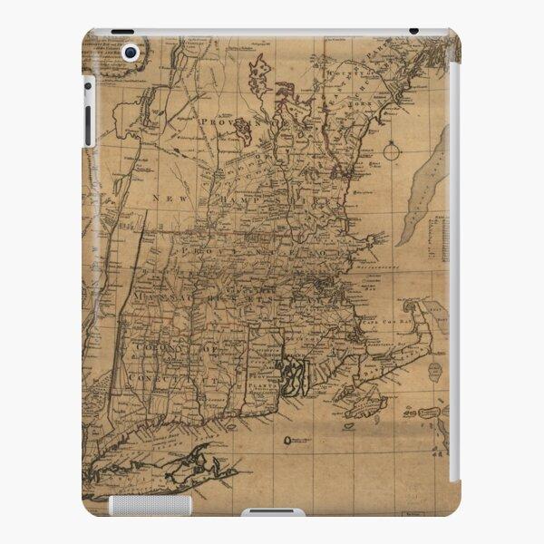 Vintage Map of The New England Coast (1771) iPad Snap Case