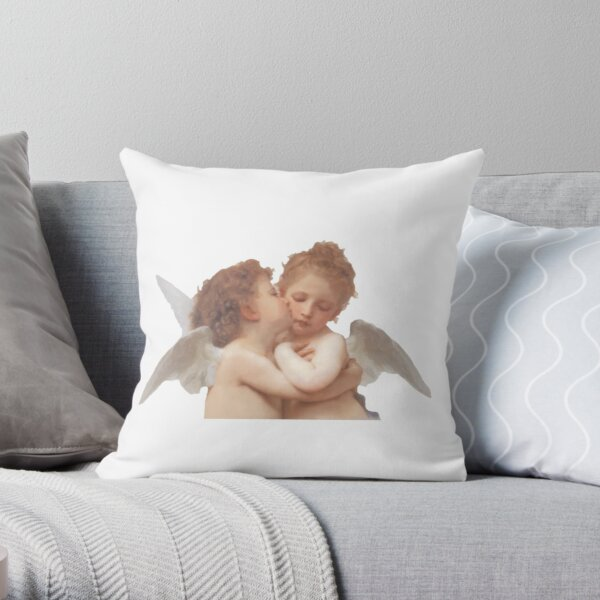 L'Amour et Psyché, enfants Throw Pillow