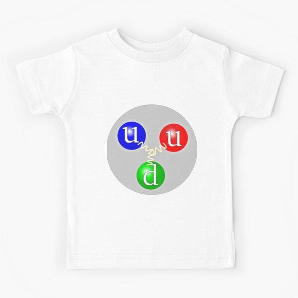 Quark Composion of a Proton Kids T-Shirt