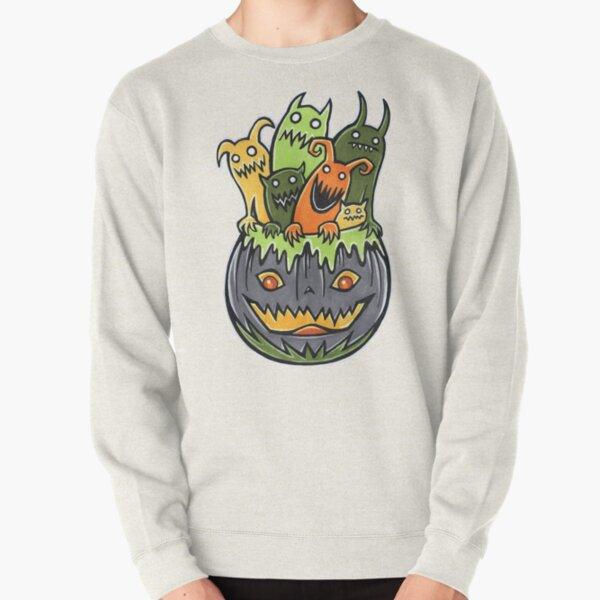 Monster Party Pullover Sweatshirt