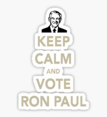 KEEP CALM AND VOTE RON PAUL Sticker