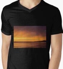 Golden  Mens V-Neck T-Shirt