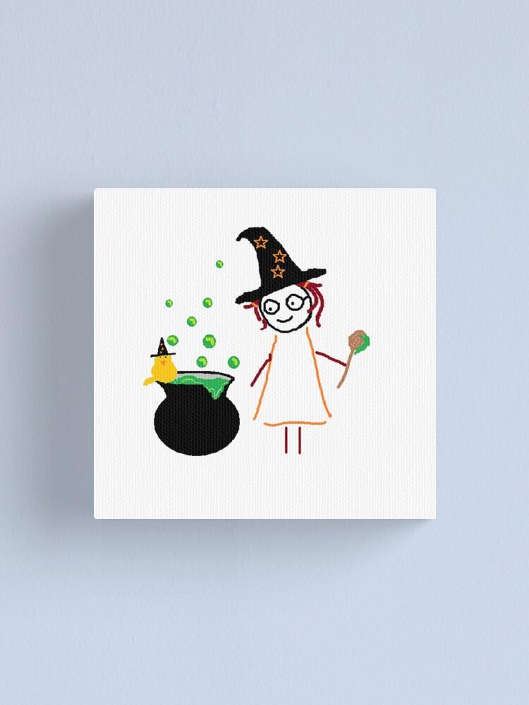 Alternate view of Jenny Halloween Canvas Print