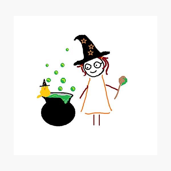Jenny Halloween Photographic Print