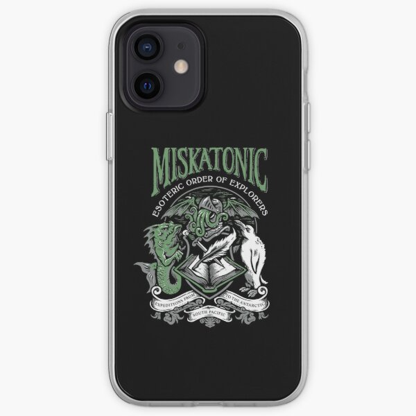 Miskatonic Esoteric Order of Explorers iPhone Soft Case