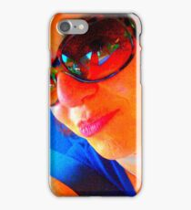 Portrait of the artist as an i phone case iPhone Case/Skin