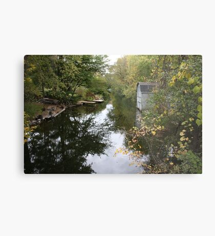 The Oconomowoc River Metal Print