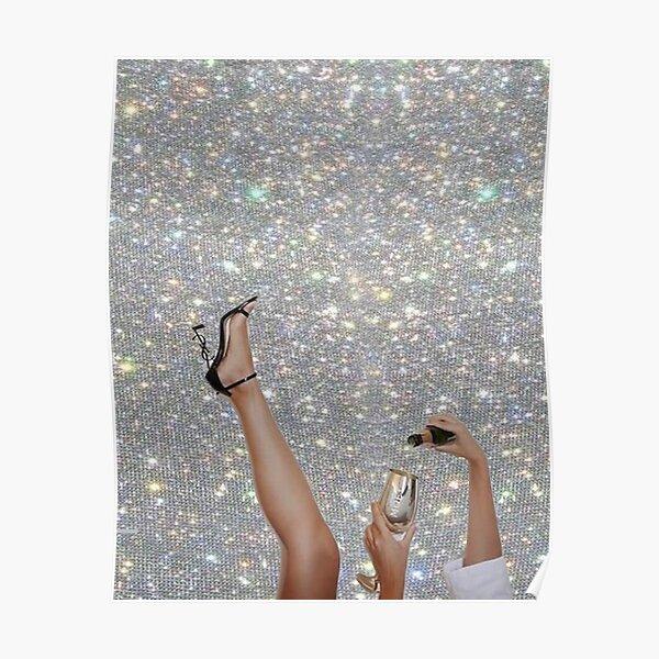 Vintage Champagne Sparkles Poster