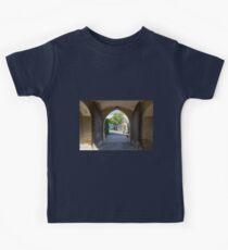Gate of Hohenzollern Castle Kids Tee