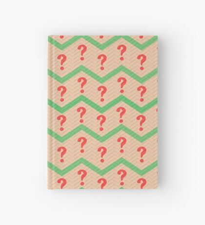 Seventh Doctor Pattern Hardcover Journal