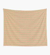 Seventh Doctor Pattern Wall Tapestry