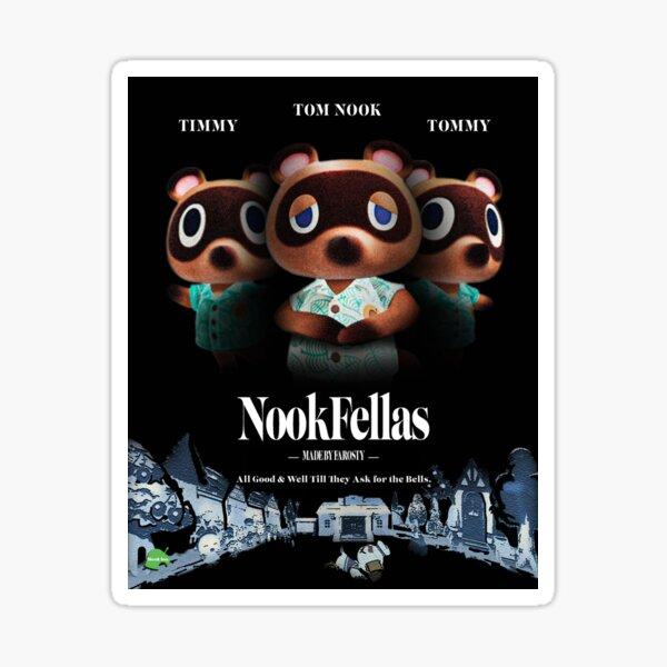 Nookfellas (Goodfellas ACNH Parody) Sticker