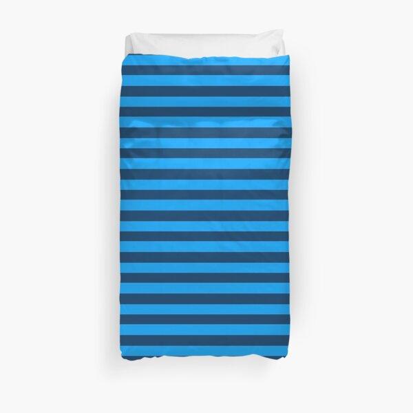Duet Stripe - Blue Duvet Cover