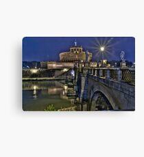 The Vatican best Bridge, Ponte Sant'Angelo Canvas Print