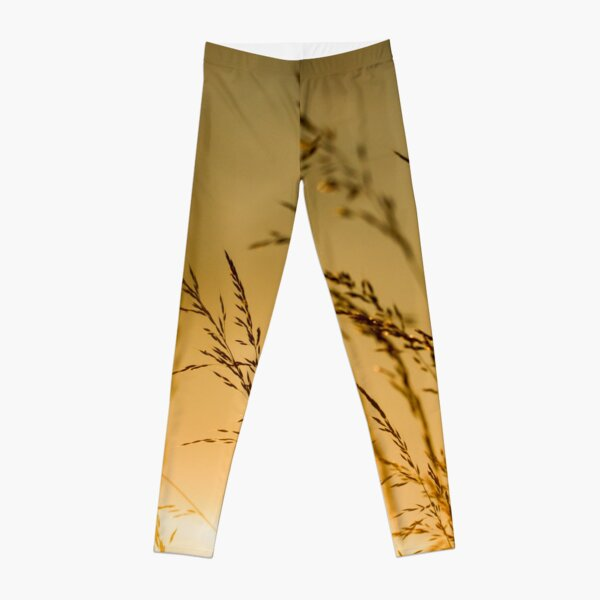 Golden in the Afternoon Leggings