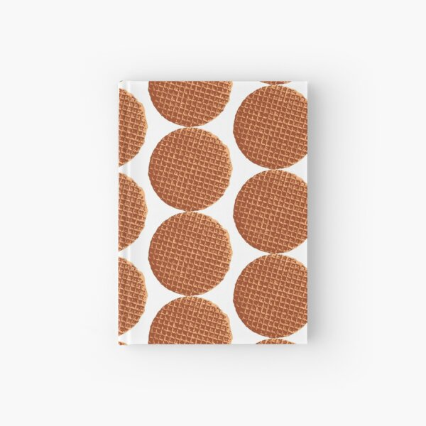 The Dutch waffle, syrup waffle or de stroopwafel Hardcover Journal