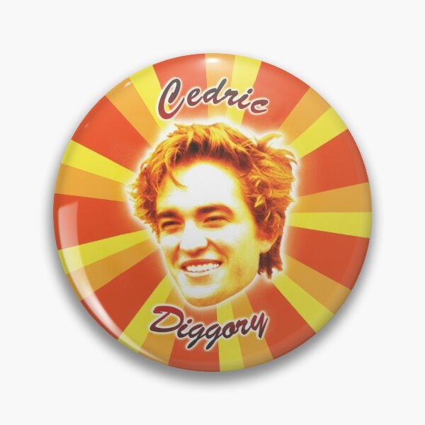 Cedric Diggory Badge Pin