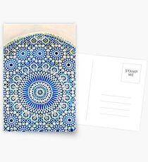 morocco mosaic Postkarten