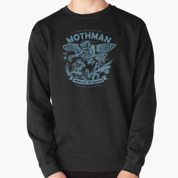 Mothman - Cryptids Club Case file #299 Pullover Sweatshirt