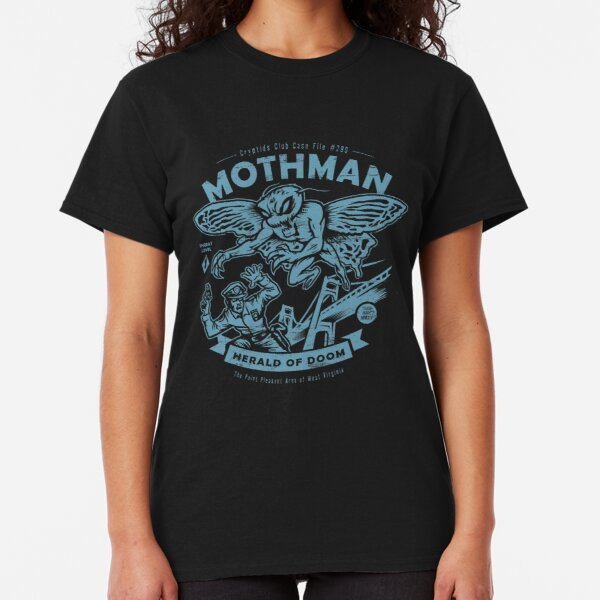 Mothman - Cryptids Club Case file #299 Classic T-Shirt