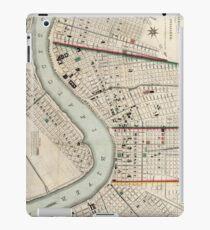 Vintage Map of New Orleans Louisiana (1845) iPad Case/Skin