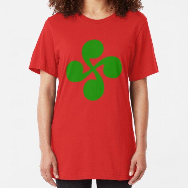 euskara croix basque Slim Fit T-Shirt