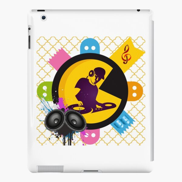 DJ music art design for redbubble  iPad Snap Case