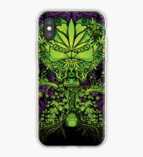 Marijuana Love Tree iPhone Case