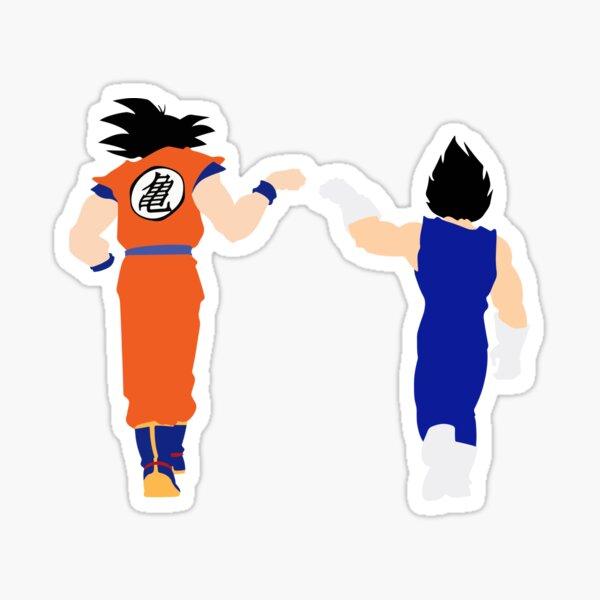 Goku and Vegeta - DBZ Sticker