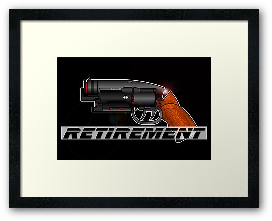 Blade Runner Gun by Anthony Armstrong