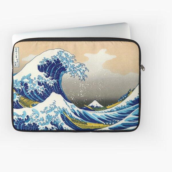 Katsushika Hokusai - The Great Wave of Kanagawa Laptop Sleeve