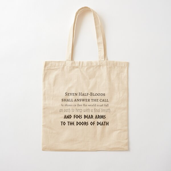 Prophecy of the Seven Cotton Tote Bag