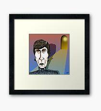 John Lennon Cartoon Caricature Framed Print
