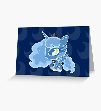 Weeny My Little Pony- Princess Luna Greeting Card