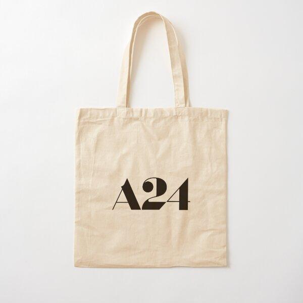 A24 Logo (Black) Cotton Tote Bag