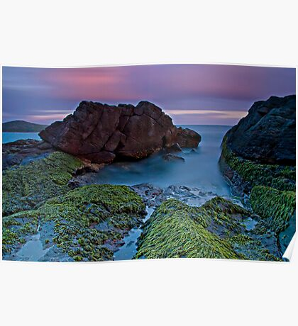 Fingal Bay Sunset Poster