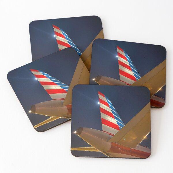 AA Tail Coasters (Set of 4)