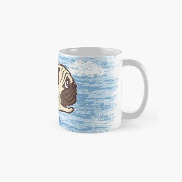 Flying Pug Classic Mug