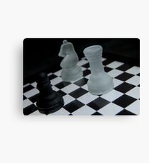 Chess Challenge Canvas Print