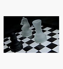 Chess Challenge Photographic Print