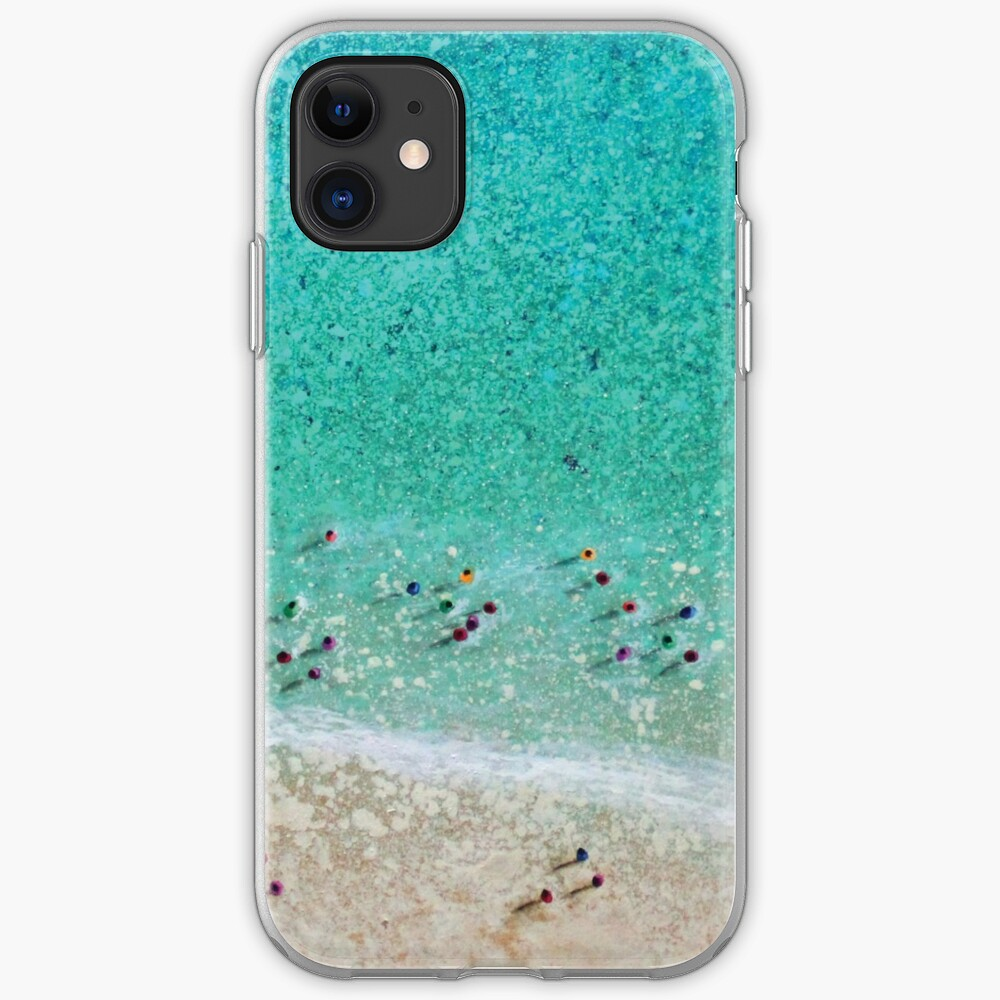 Bayside Bathers iPhone Case & Cover