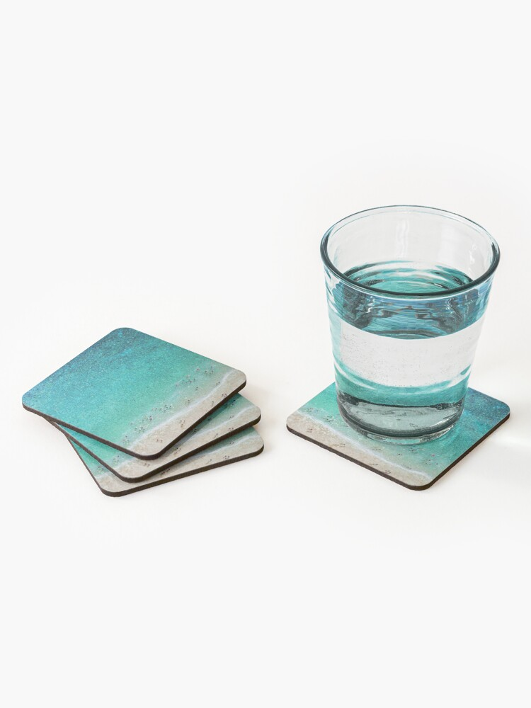 Alternate view of Bayside Bathers Coasters (Set of 4)