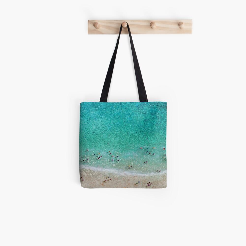 Bayside Bathers Tote Bag