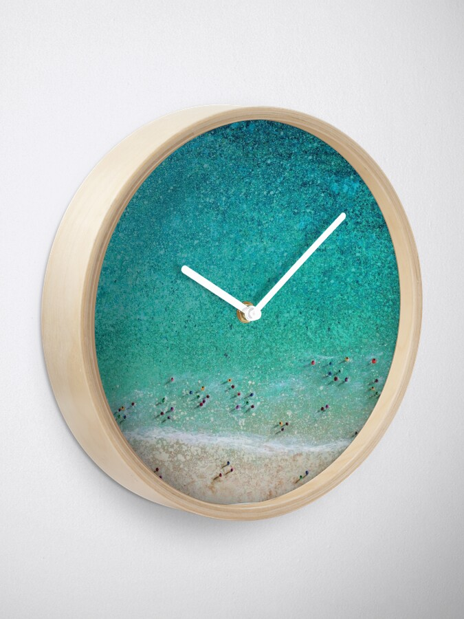 Alternate view of Bayside Bathers Clock