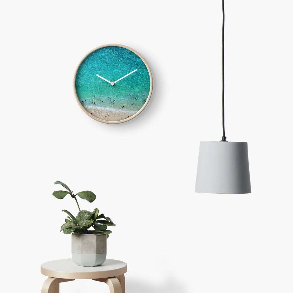 Bayside Bathers Clock