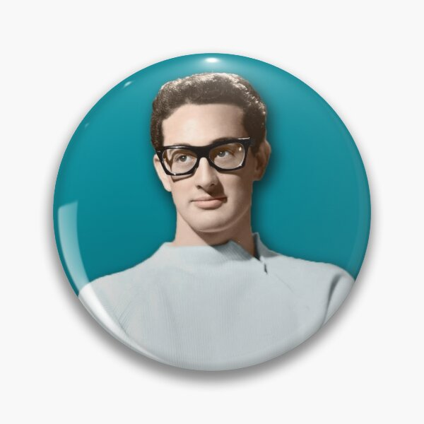 Buddy Holly - Colorized  Pin