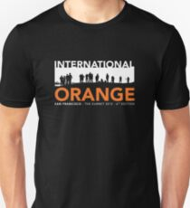 International Orange Summit 2015 San Francisco Architecture T-shirt T-Shirt