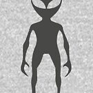 Tall Alien Silhouette by Susan Tong